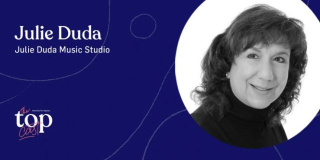 30 minute piano lessons and creativity guest speaker Julie Duda