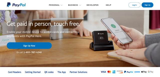 Companies Like Square: PayPal Here