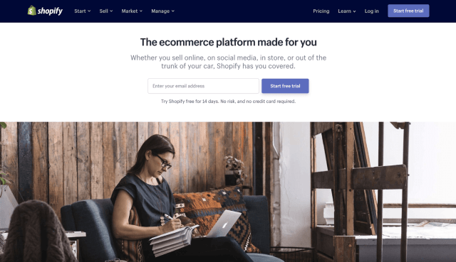 Create a Website with Shopify