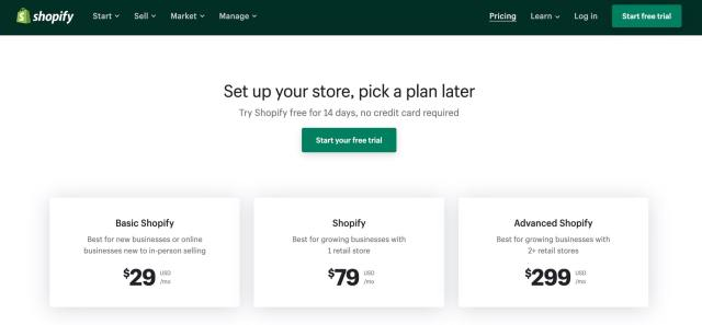 WooCommerce vs Shopify pricing