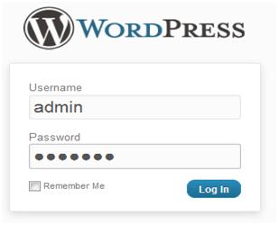 word press install