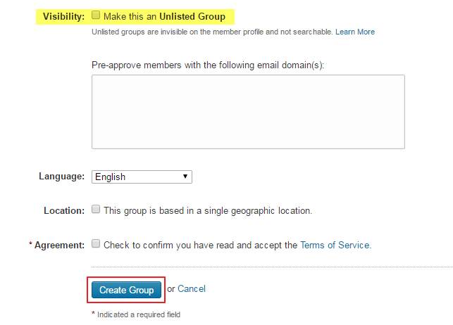 How to Create My LinkedIn Group Step 4