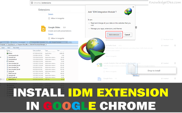 How to Install IDM Extension in Google Chrome