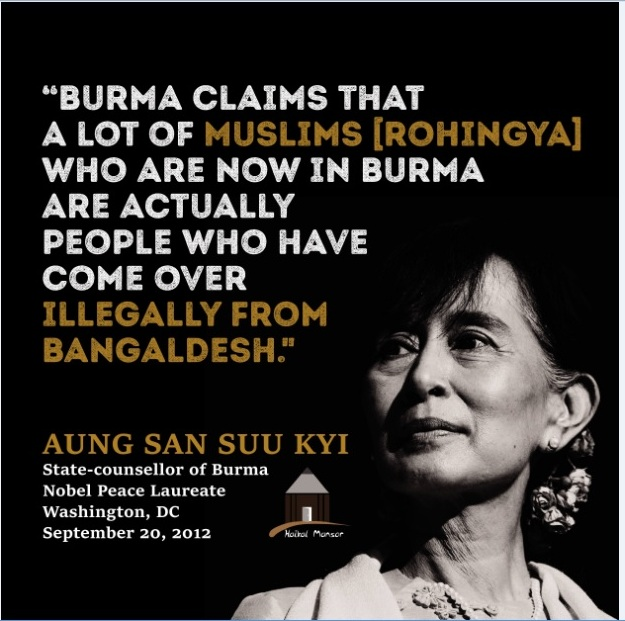 ROHINGYAS under genocidal attack by Buddha's Islam-phobic followers