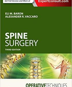 Operative Techniques: Spine Surgery-3rd Edition