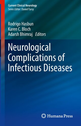 Neurological Complications of Infectious Diseases