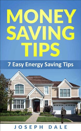 Money Saving Tips: 7 Easy energy saving tips