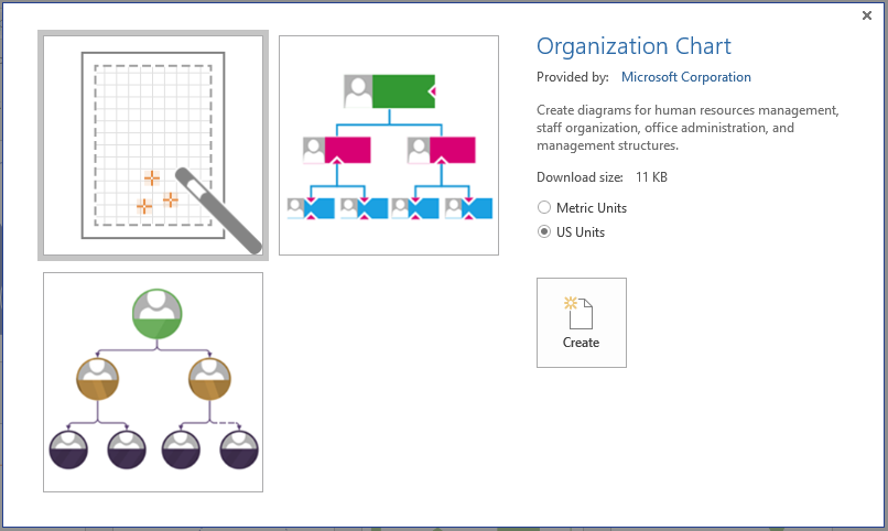 Visio org chart wizard also create  from excel rh knowledgewave