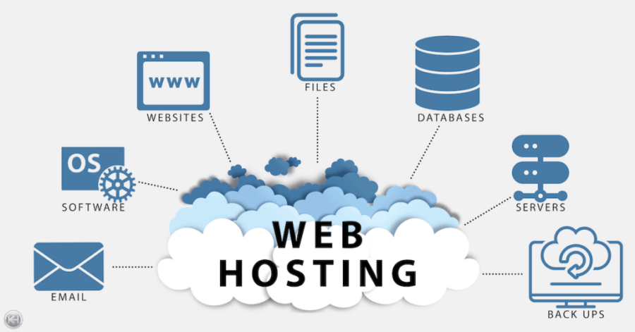 Web Hosting Info Graphic