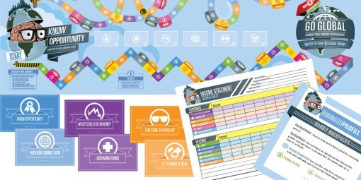 Know Opportunity board game, game cards, profile cards and income statement