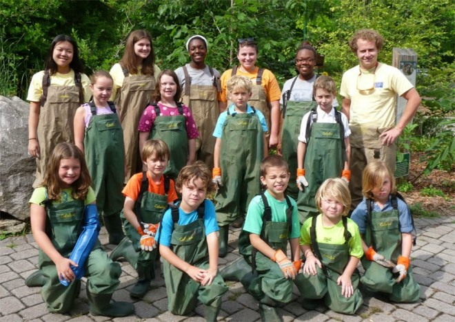 Ijams Nature Center: Nature Adventure Camps (ages 6-12)