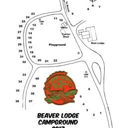 beaver lodge camping rules [ 850 x 1123 Pixel ]