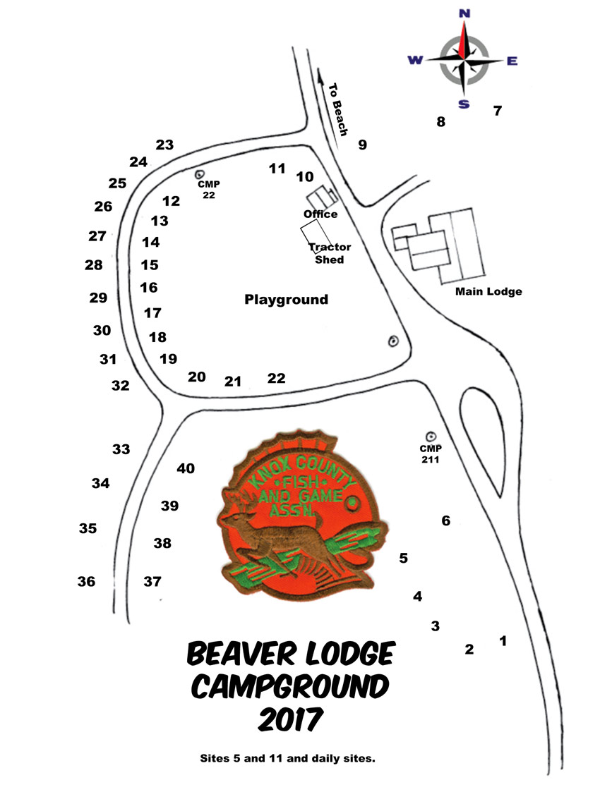 medium resolution of beaver lodge camping rules