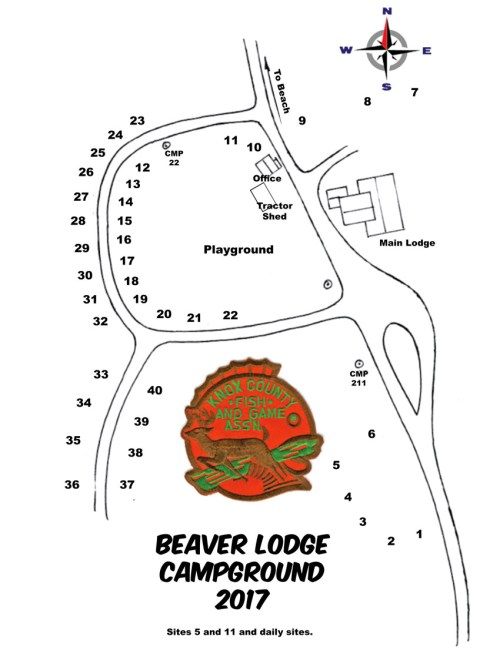 small resolution of beaver lodge camping rules