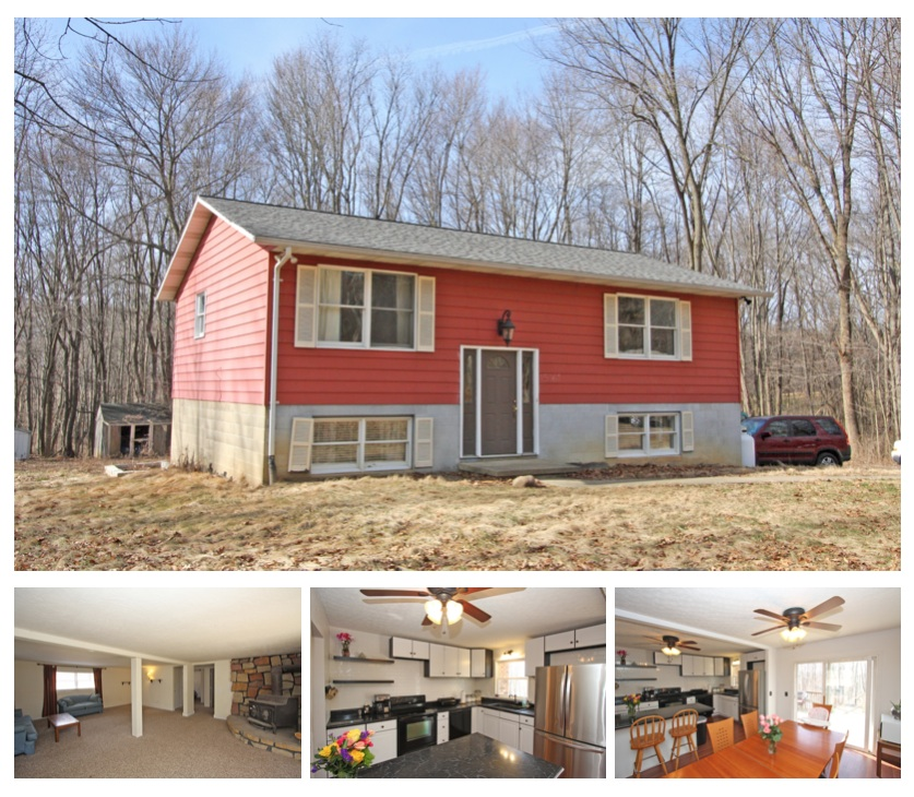 Country BiLevel Home For Sale in Fredericktown Ohio