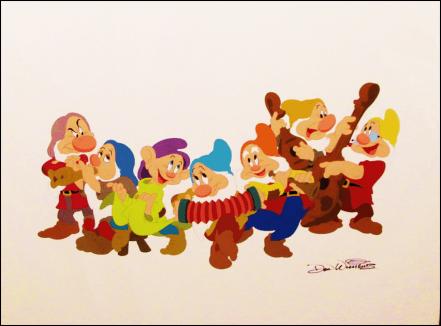Disney Cartoonist Don Williams signed artwork