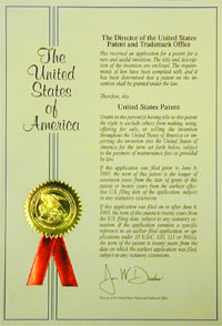 Letters Patent Info Knox Patents Kulaga Law Office Patent Attorney