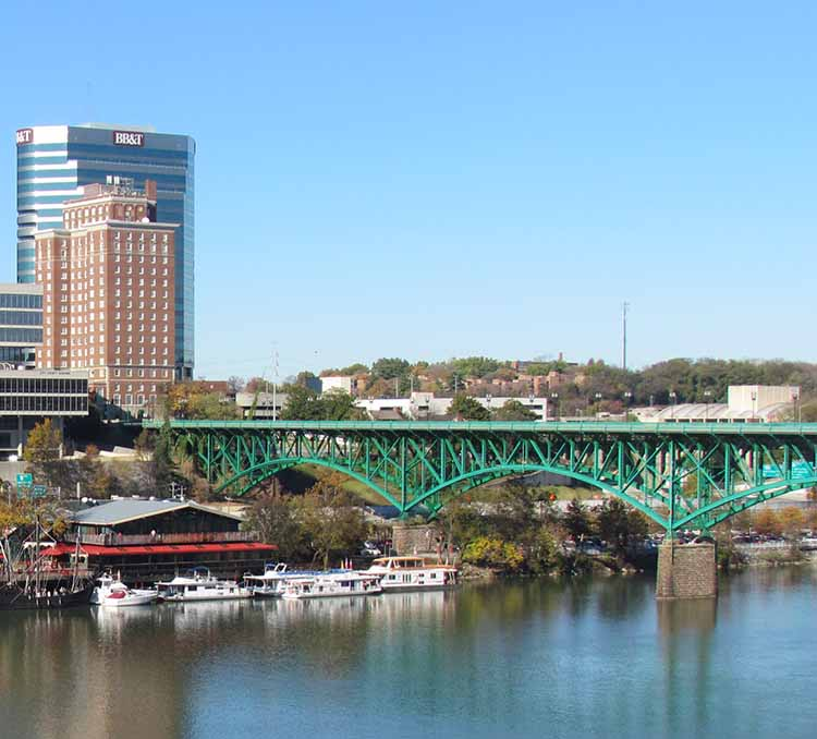 Free Fall Harvest Wallpaper Gay Street Bridge Knoxville Tn