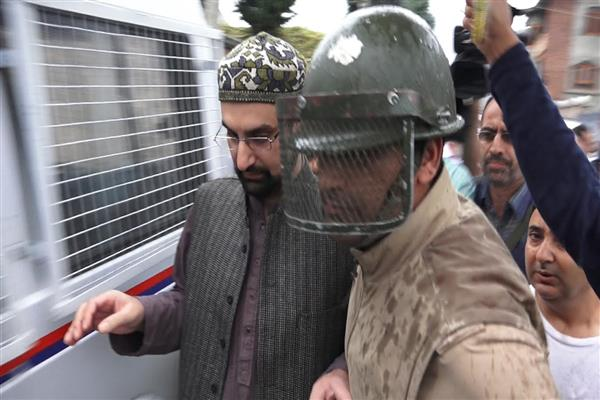 Image result for Continued illegal Detention Of Mirwaiz Condemned