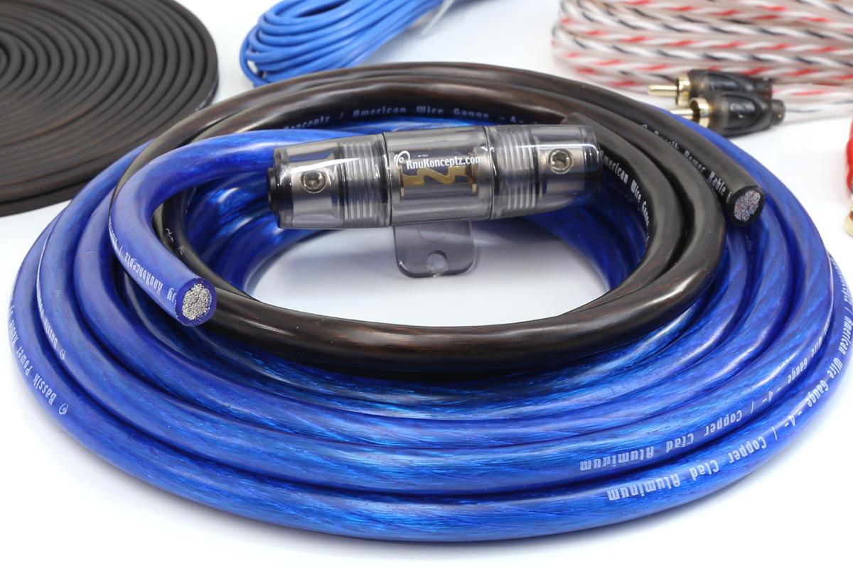 hight resolution of  bassik 4 gauge amp kit