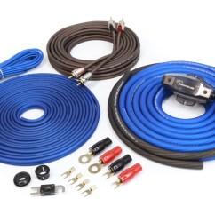 Marine Amplifier Wiring Kit 2005 Toyota Corolla Stereo Diagram Complete 4 Gauge Installation Merchandise