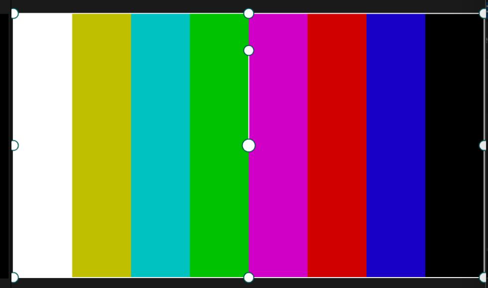 P3 D65 color bars