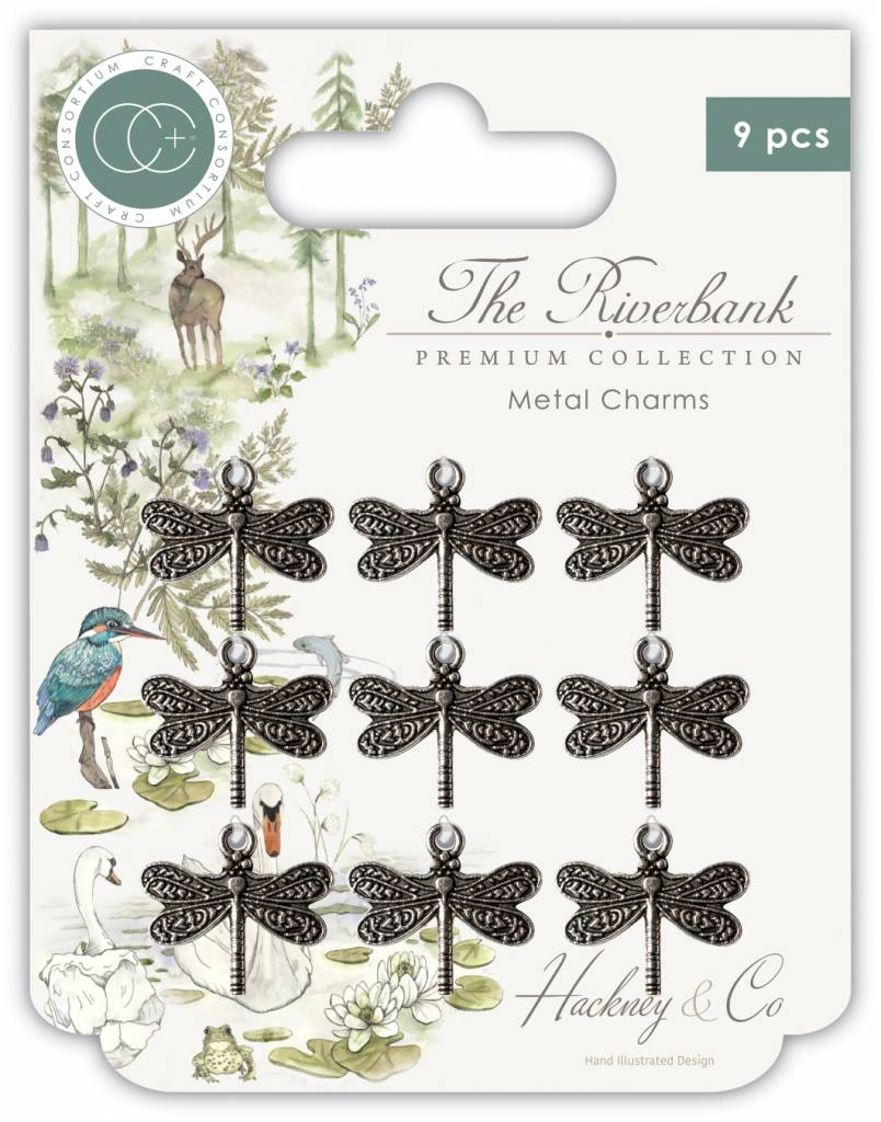 Craft Consortium The Riverbank Dragonfly Charms