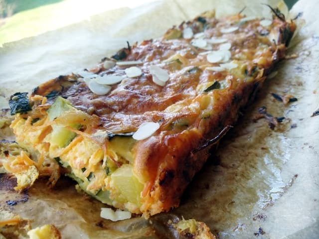courgette wortel cake