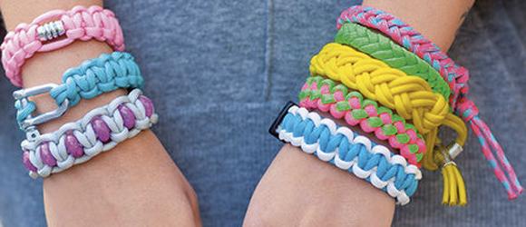 Paracord armbandje maken de nieuwste rage  Knutselhulp