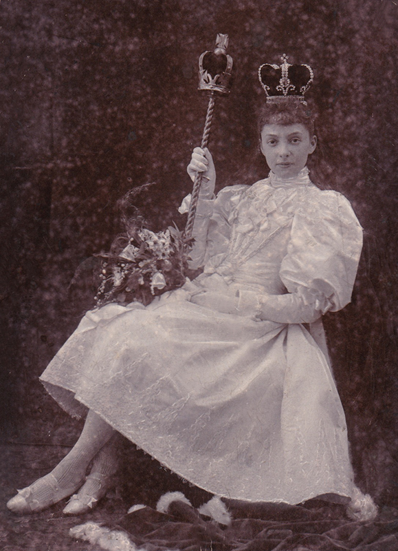 1895 Knutsford Royal May Queen, Nellie Chorlton