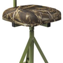 Duck Hunting Chair Wheelchair Options Knutsons Decoys Ground Blinds Blind Covers Fast Grass Seating Marsh Seats