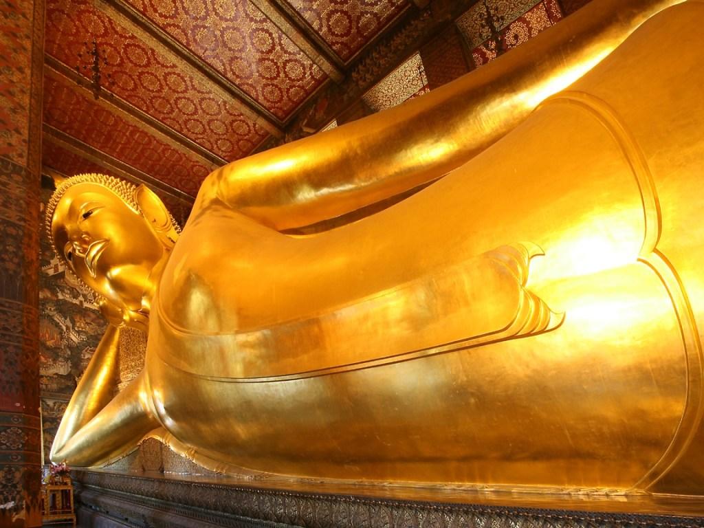 Reclining Buddha Wat Pho Bangkok, Thailand