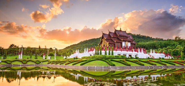 Royal Flora Ratchaphruek Chiang Mai, Thailand
