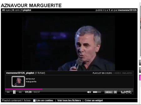 Charles Aznavour - La Marguerite