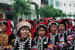 Zuid-China-dorpsfeest