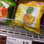 gedroogde ananas-kost een vermogen