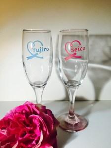 ペアグラス ワイングラス 結婚祝