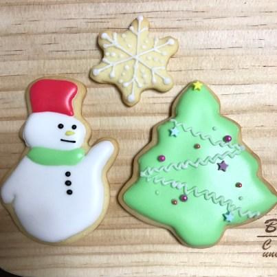 クリスマスデザイン アイシングクッキー ワークショッップ
