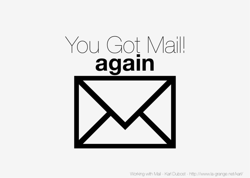 Slide 22 - You got mail again