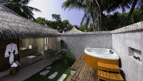 Superior Beach Villa at Kuramathi Island Resort