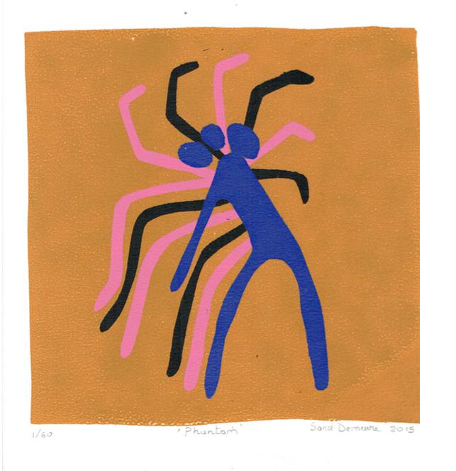 "Sandrine Demeure  ""Phantom"" #1/60 2015"