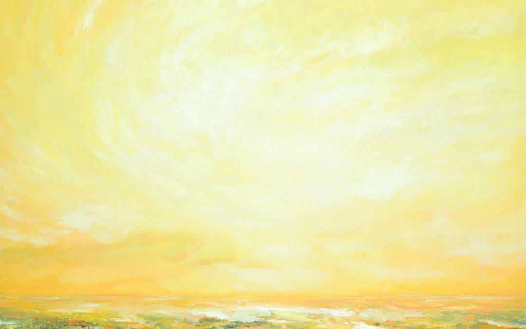 """Dale Kirschenman ASA  """"Winter Sky II"""" 2009"""