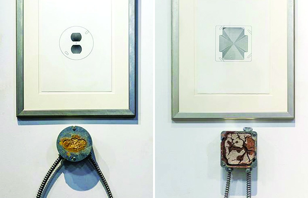 "Walter May  ""Small Powerboxes with Drawings""  1994"