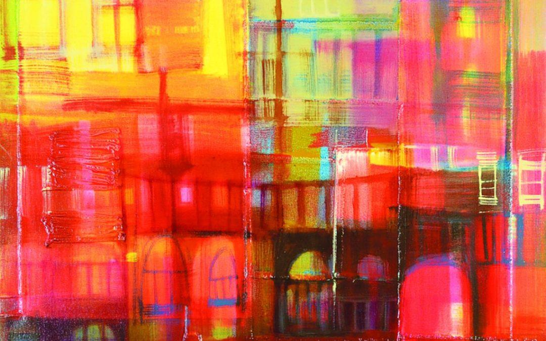 """Verna Vogel  """"Skyline II"""" 2009-10"""