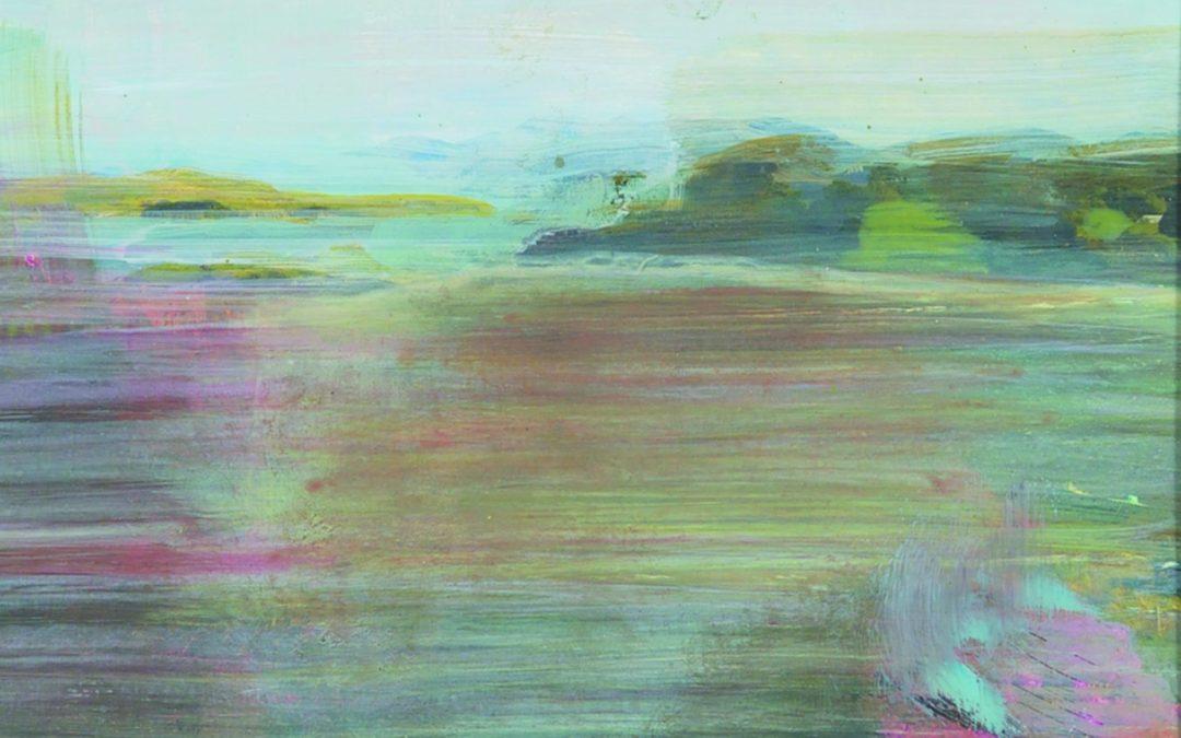 "Barbara Milne RCA ""Foothills Dusk""  2015"