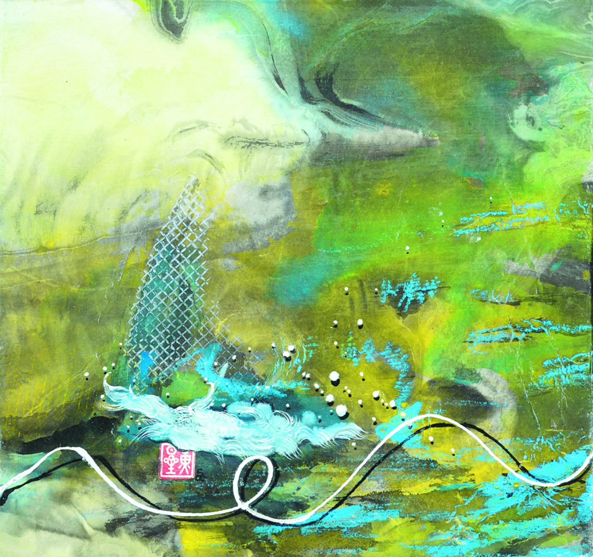 Simon Y S Wong Asa Waves 2014 Kiyooka Ohe Arts Centre