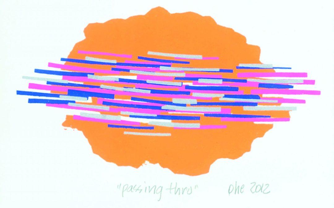 """Katie Ohe ASA, RCA  """"Passing Through""""   2012"""