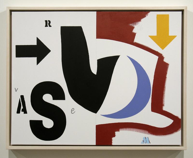 """Ron Moppett  RCA  """"Eight Days A Week: Vase""""  2006"""