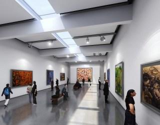 Pavilion Interior Rendering