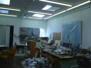 Artists Painting Studio